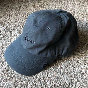 Nike authentic adjustable grey hat